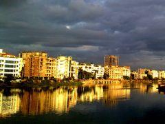 Banani Lake & Gulshan by <b>Dr.N.H.Sarja</b> ( a Panoramio image )