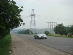 Electricity Transmission Line / ЛЭП / Linie Electrica de Transpo by <b>serj-balti</b> ( a Panoramio image )