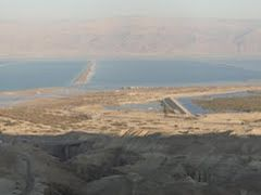 View to Dead Sea and Heimar reservoir from road 31 by <b>DirkLuger</b> ( a Panoramio image )