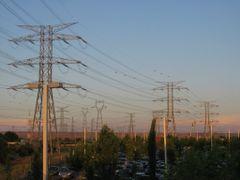 Sanse. Lineas electricas by <b>libanez</b> ( a Panoramio image )