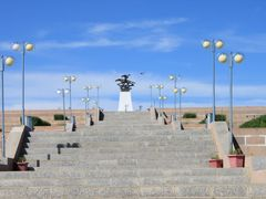 Statue to Morin Khuur by <b>E.G.Tsatsralt</b> ( a Panoramio image )
