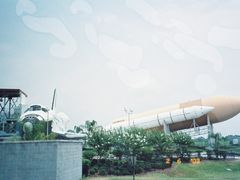 A rocket shown in the Rocket Garden at KSC,Florida,USA by <b>unnippillai</b> ( a Panoramio image )