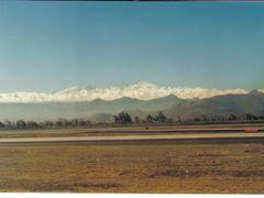 Cordilheira dos Andes - Aeroporto -R.M. Santiago - Chile by <b>Romao</b> ( a Panoramio image )