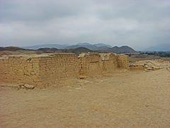 """Fortaleza de Paramonga. Complejo arqueologico de origen Chimu""  by <b>Omar Gobbi</b> ( a Panoramio image )"