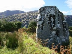 We were here a long time ago... Standing Stone, Coomgira, Adrigo by <b>Clive on Beara</b> ( a Panoramio image )