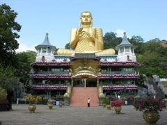 Golden Temple of Dambulla by <b>ThoiryK</b> ( a Panoramio image )