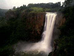 Howick Falls in flood by <b>Graham Hobbs</b> ( a Panoramio image )