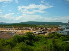 Wood industry. Jul 2010 by <b>Falconsk</b> ( a Panoramio image )