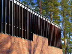 Town Hall of Saynatsalo, designed by Alvar Aalto (1898-1976) by <b>Andy Malengier</b> ( a Panoramio image )