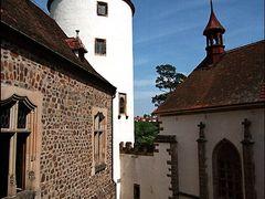 Замок Крживоклат (Krivoklat castle) by <b>Pavel_A</b> ( a Panoramio image )