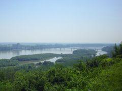 Erdod-Gombos / Erdut-Bogojevo - mostovi / hidak by <b>dr_samu</b> ( a Panoramio image )