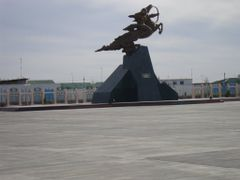 New central place in Dashoguz by <b>altyn09</b> ( a Panoramio image )