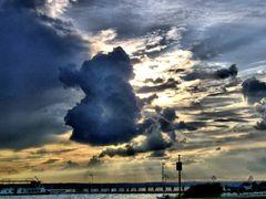 Sunset  Mamaia  by <b>Lalyk</b> ( a Panoramio image )