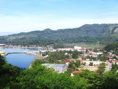 A view of my hometown and its wharf. Jagna, Bohol by <b>francinelb3</b> ( a Panoramio image )