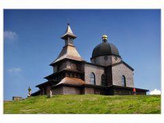 Kaple sv.Cyrila a Metodeje na Radhosti by <b>petr k.</b> ( a Panoramio image )