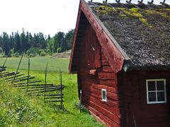 Old cottage (gammal stuga) by <b>Agneta Bodin</b> ( a Panoramio image )