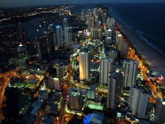 Gold Coast (view from Q1) by <b>miro59</b> ( a Panoramio image )