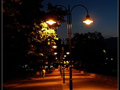 At Night...... by <b>dardani.m</b> ( a Panoramio image )