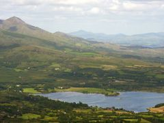 "Adrigole Harbour from ""Windy Gap"", Hungry Hill by <b>Clive on Beara</b> ( a Panoramio image )"