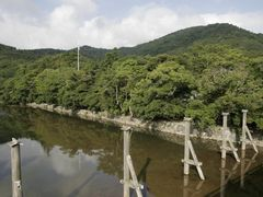 bridge to shrine by <b>Kaiseikun</b> ( a Panoramio image )