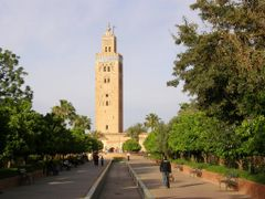 "Marrakech, 1 - Minaret of Koutoubia""s Mosque and Parc Lalla Hasn by <b>MAPP HUDRANS</b> ( a Panoramio image )"