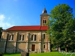 Serbian orthodox church - Assumption of Mary - Uspenje Presvete  by <b>Milan Rapaic</b> ( a Panoramio image )