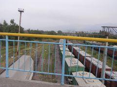 Железнодорожная станция Алматы-1/Railway station Almaty-1 by <b>Сергей Алесковский</b> ( a Panoramio image )
