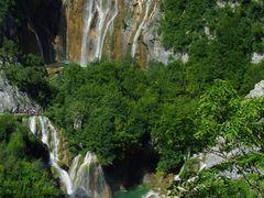 Plitvicei tavak / Plitvice lakes by <b>Elemer</b> ( a Panoramio image )