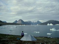 Camp near Qaqortoq by <b>Philippe Stoop</b> ( a Panoramio image )