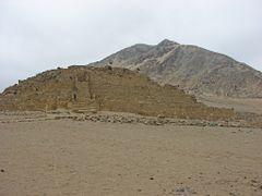 """""""Piramide de la Galeria""""  """"Ciudad Sagrada de Caral""""  """"PERU"""" by <b>Omar Gobbi</b> ( a Panoramio image )"""