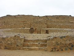 """Piramide Mayor""  ""Ciudad Sagrada de Caral""  ""PERU"" by <b>Omar Gobbi</b> ( a Panoramio image )"