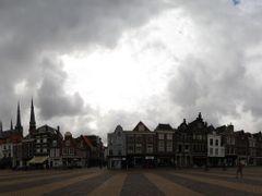 NED Delft Markt (Nieuwe Kerk - Stadhuis) Panorama by KWOT by <b>KWO Tsoumenis</b> ( a Panoramio image )