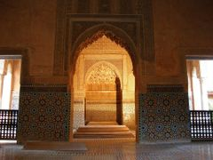 Marrakech 7 - Saadian Tombs - Mausoleum 17th century Saadi Dinas by <b>MAPP HUDRANS</b> ( a Panoramio image )