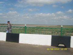Амударья, вид с моста. by <b>Бек Казах</b> ( a Panoramio image )
