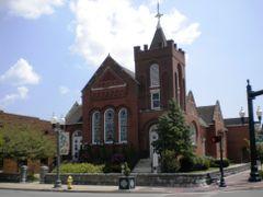 Presbyterian Church by <b>Peter Bond</b> ( a Panoramio image )