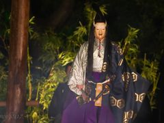2. ??:Noh performed in torchlight. / ?(Ha) : Development or Turn by <b>miyo0117</b> ( a Panoramio image )