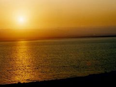 Sunset in Dead Sea(Lut Lake) by <b>Esref UCAR</b> ( a Panoramio image )