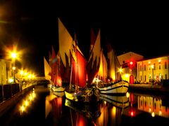 Museo della marineria - Cesenatico night by <b>marco .gi 46</b> ( a Panoramio image )