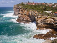 The Gap with smashing waves by <b>Steve Bennett</b> ( a Panoramio image )