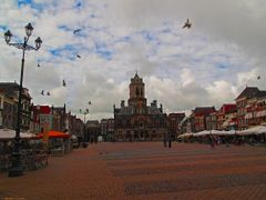 NED Delft Stadhuis by KWOT by <b>KWO Tsoumenis</b> ( a Panoramio image )