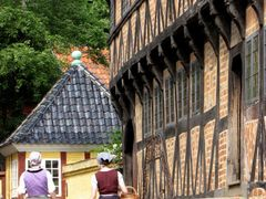 """""""Flashback - The Good Old Days II"""" - The Old Town, Aarhus, Jutla by <b>Jan Sognnes</b> ( a Panoramio image )"""