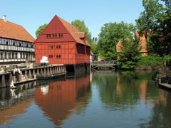 """Reflections - The Good Old Days I"" - The Old Town, Aarhus, Jutl by <b>Jan Sognnes</b> ( a Panoramio image )"