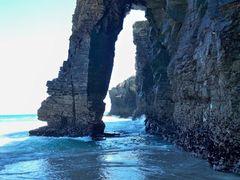 Playa de las Catedrales. Lugo. Sin efectos especiales by <b>jesus arbona</b> ( a Panoramio image )