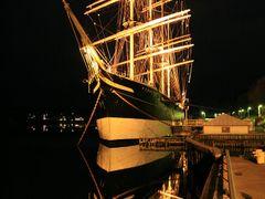 Pommern, museum ship, originally kept 4-mast barque by <b>matsljungberg</b> ( a Panoramio image )