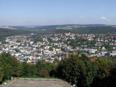 Parkwarte Blick auf Aue by <b>Olympus330</b> ( a Panoramio image )