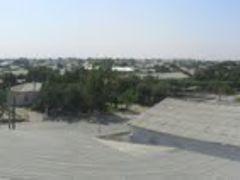 360° - Kagan city, Shodiyona restaurant rooftop - August, 2010 by <b>Karim</b> ( a Panoramio image )