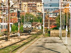 Zeleznicka stanica Nis - prilaz iz Beograda by <b>zlalem</b> ( a Panoramio image )