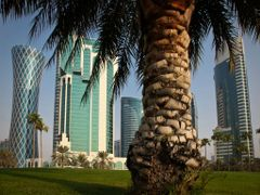 Doha west bay by <b>S?ren Terp</b> ( a Panoramio image )