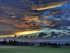 Sunset - The National Garden Golf Club  by <b>MaxLo</b> ( a Panoramio image )