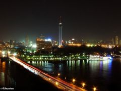 Cairo at Night by <b>arch.khazarian</b> ( a Panoramio image )